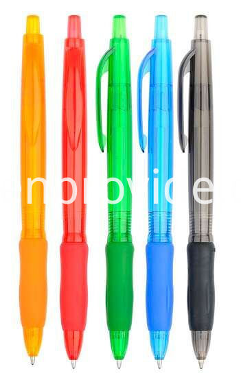 Logo Pens with Soft Rubber Grip