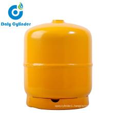 Cheap 3kg Nigeria LPG Cylinder Manufacturing