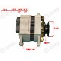 Yuchai original YC4E alternador E0253-3701100