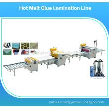 Laminate roller machine / hot melt coating machine / hot melt glue dispenser