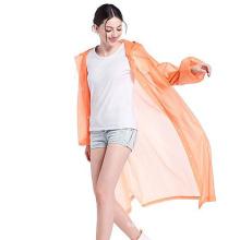 Vêtements de pluie pour adultes EVA personnalisés avec sac en filet