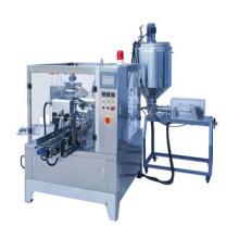 Automatische flüssige Doy Pouch Verpackungsmaschine für Flüssigkeit und Sauce