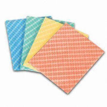 Cleaning Cloth, Spunlace Nonwoven Wipes