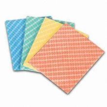 Чистящая салфетка, салфетки из нетканых материалов Spunlace