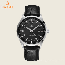 Luxury Business Men′s Watch with Leather Strap 72594