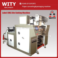 in mold label die cutting machine