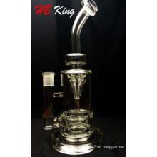 Top Selling 12 Zoll Höhe neue Trichter Percolator Glas Rauchen Wasser Rohr