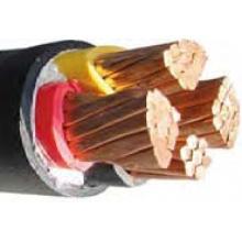 ПВХ-изоляцией силовой кабель с высоким напряжением 0.6 / 1kv без брони