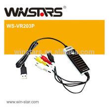 Graveur vidéo USB 2.0 avec audio. Carte de capture audio USB