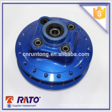 Highly recommended cheap and fine blue motorcycle rear drum-brake wheel hub
