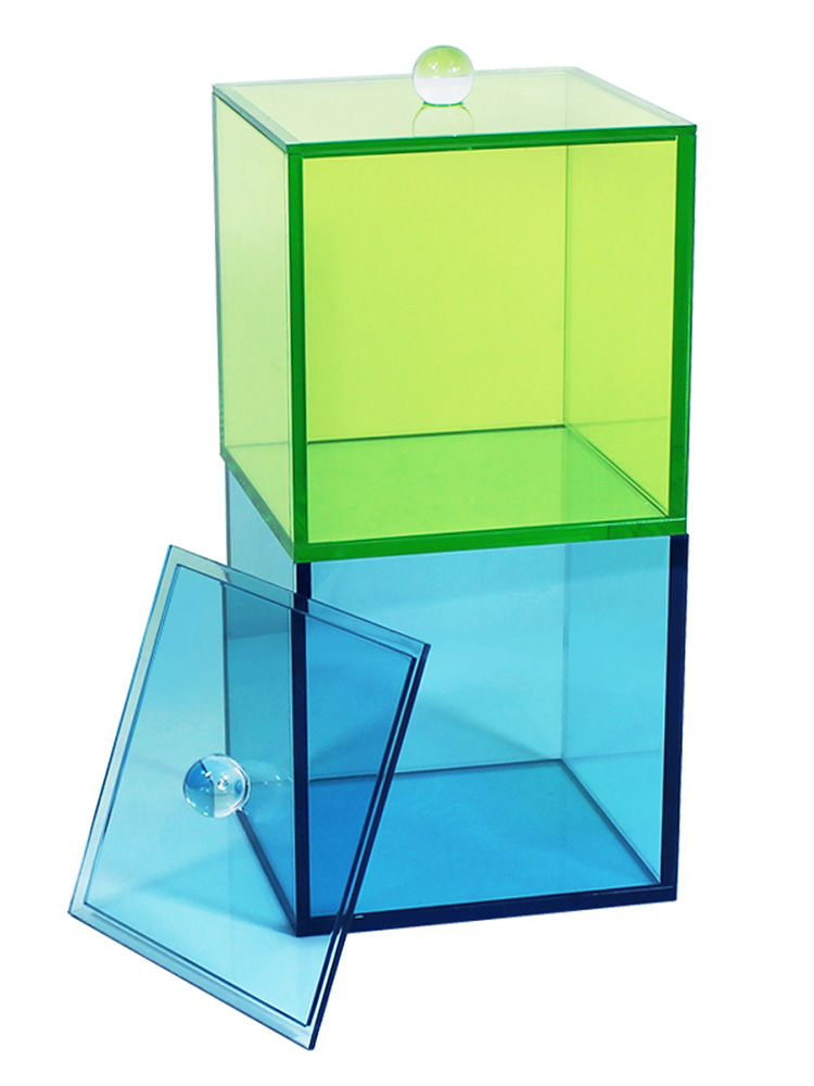 Acrylic Canister With Lid