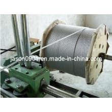 Corde à fil en acier inoxydable, corde à fil, fil inoxydable, fil métallique