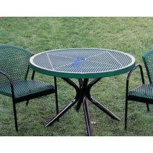 Steel Plate Mesh Chairs Punching