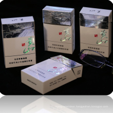 No Ink Printed Hologram Cigarette Cardboard Packaging Box