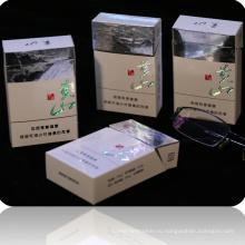 Нет чернил напечатаны голограмма портсигара картонной упаковки