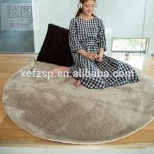 tapis de couchage rond moderne et tapis