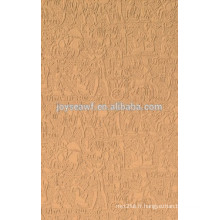 Panneau dur brut 1220X2440x2,5mm tableau haute densité couleur foncée