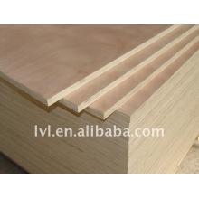 Poplar Core Okoume cara y espalda Plywood 4