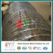 Helical Razor Wire/ Barbed Tape Concertina/ Razor Blade Wire