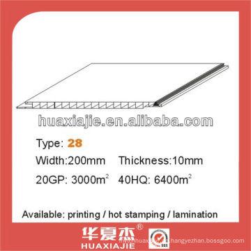 PVC-Brettgröße panel200mm * 10mm