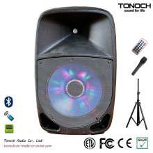 OEM ODM 12 polegadas de plástico DJ Speaker com excelente desempenho