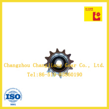 Standard Stock Spline Tooth Gear Sprocket with Suitable Bearing