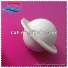 "25mm/1"" Plastic hollow pvdf ball Covering ball with edge"