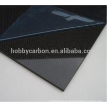 Folha de 2mm G10, folha da fibra de vidro da sarja G10 3K para Multirotor