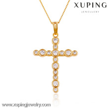 32434- Bijoux Xuping Trendy Charm Christma Gifts Pendentif en plaqué or 18 carats