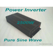 Onduleur de puissance de 2500 watts Pure Sine Wave / DC to AC Inverters
