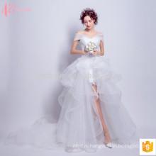 Женское кружева с плеча сексуальная бальное платье принцессы свадебное платье
