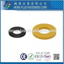 Taiwán Acero inoxidable PC N66 Natural Negro Nylon plástico arandela Clear plástico arandelas Grandes plástico arandelas