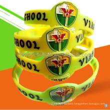Neworiental Customized  Silicone Wristbands Silicone Bracelets.
