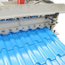Máquina formadora de tejas escalonadas de paneles de techo acristalado