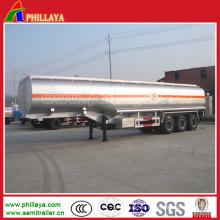 45000liters Edelstahl-Tankwagen-Anhänger im halb Anhänger