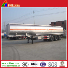 3 Axles 50000L Stainless Steel Tank Truck with Semi Trailer