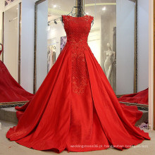 LS91240 Red A Word Brought Stretch Wrapped Sexy Hijab backless lace evening Mulheres Party Wear Western Dress