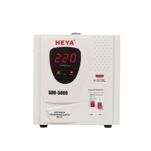 SDR Relay Control 5KVA Full AC Automatic Power Automatic Voltage Regulator Stabilizers 220V AC