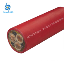 MYPTJ 6 / 10kV Rubber Insulated Metallic Screened Flexible Cable