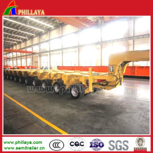Lower Loading Deck Modular Low Bed Trailer
