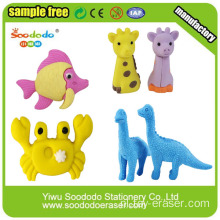 Lovely Animal Shaped Eraser voor Kinderen