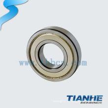 Acero de cromo de larga duración rodamiento de bolas de surco profundo 6324 made in china