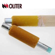 OLITER four de fabrication de l'acier de mesure de température en acier liquide liquide et sonde d'oxygène dissous pour fonderie