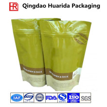Food Grade Stand up Ziplock Tea/Coffee Plastic Packaging Bags