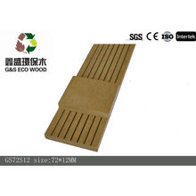 2016 new nice water-proof wood plastic composite decking