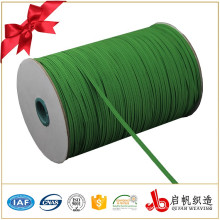 Широкий 8 мм зеленый плетеный эластичный рулон ленты производитель Китай