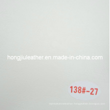 White Oil Waxy Sofa Leather for Sale