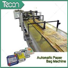 Máquina de alta velocidade do saco de papel da conservação de energia (ZT9804 & HD4913)