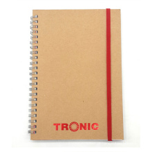 Togo Impressão Kraft Cover Spiral Notebooks Paper Notebook Kraft