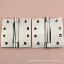 Charnières de porte de polissage de roulement à billes de 3,4,5 pouces pour la porte intérieure, RDH-10